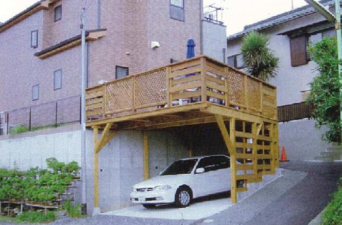 鎌倉市 N様邸 ウッドデッキ工事