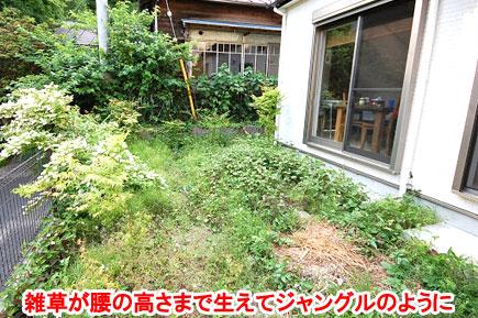 神奈川県鎌倉市 雑草対策 ウッドデッキ 外構施工事例