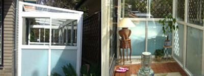 お庭の有効利用/サンルーム