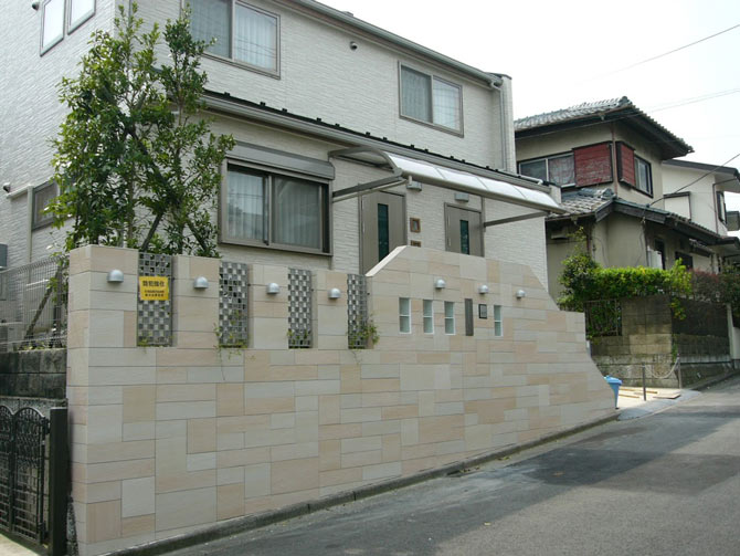 藤沢市 A様邸 外構工事・エクステリア工事・アプローチ工事