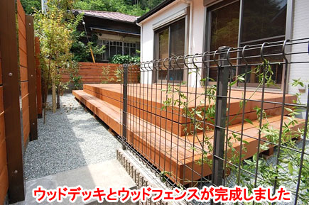 神奈川県鎌倉市 目隠し ウッドフェンス施工事例