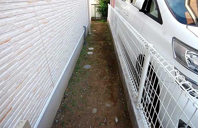 神奈川県横浜市 ウッドテラス庭収納施工例