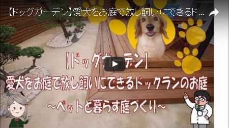 犬を自由に走らせたい!愛犬家の庭づくり~神奈川県茅ヶ崎市 M様邸工事例