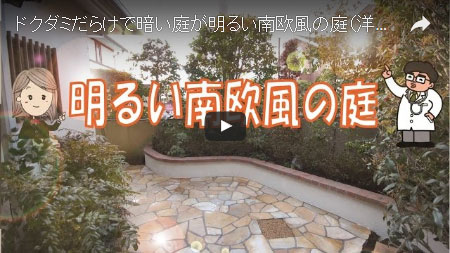 暗く閉ざされた庭が、明るい洋風ガーデンに変身~神奈川県藤沢市 F様邸工事例