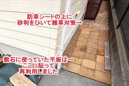 神奈川県横浜市 ウッドテラス収納施工例