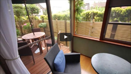 ガーデンテラス・ガーデンルームで自慢の応接間!~神奈川県鎌倉市 A様邸工事例
