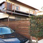 神奈川県茅ヶ崎市B様 ウッドフェンス 剪定施工事例・庭づくり